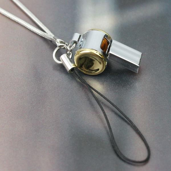 Gouden fluit telefoon touw